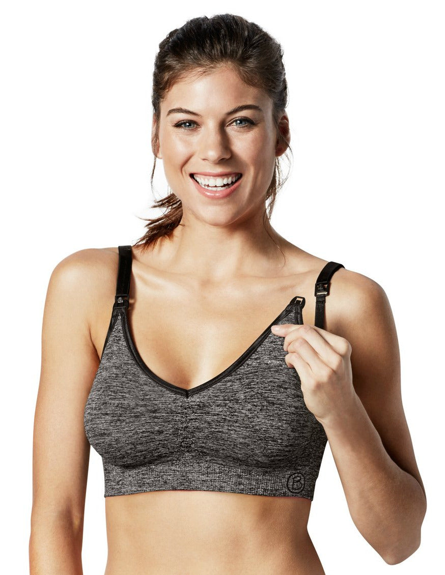 Silk Seamless Yoga Bra