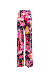 GRAPHIC PRINT TROUSERS