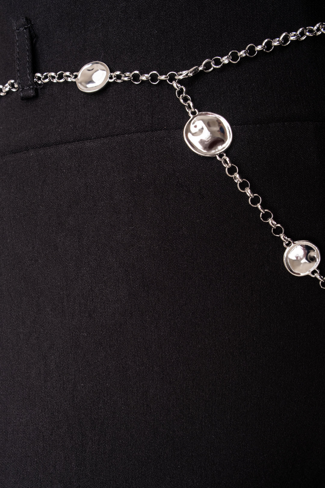 Silver Chain Formal Pants
