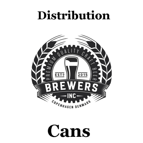 Distribution - cans & bottles