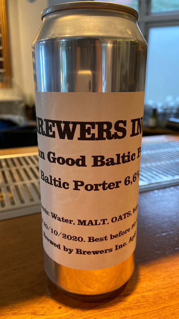 Damn Good Baltic Porter