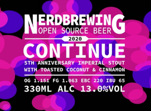 Continue - 5th Anniversary Imperial Stout
