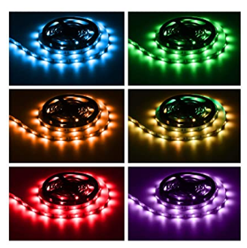 Diaslom™ TikTok Lights LED Strip Lights RGB 5050 16 feet 32 feet 48 Feet Waterproof/Non Waterproof Length with Remote