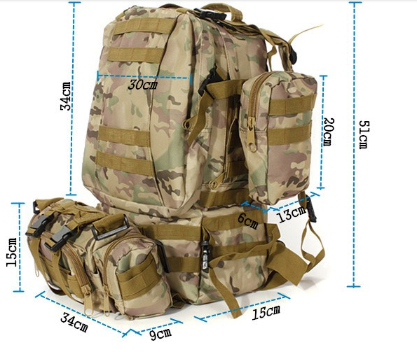 Stelmil™ - Military Backpack Tactical Army Rucksack Built-up Molle Backpack