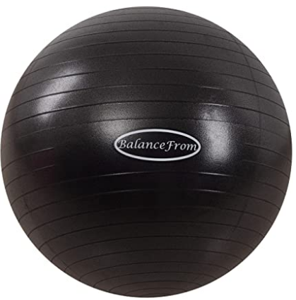 Fitall™ - Premium Anti-Burst and Slip Resistant Exercise Ball supporting 2000 lbs