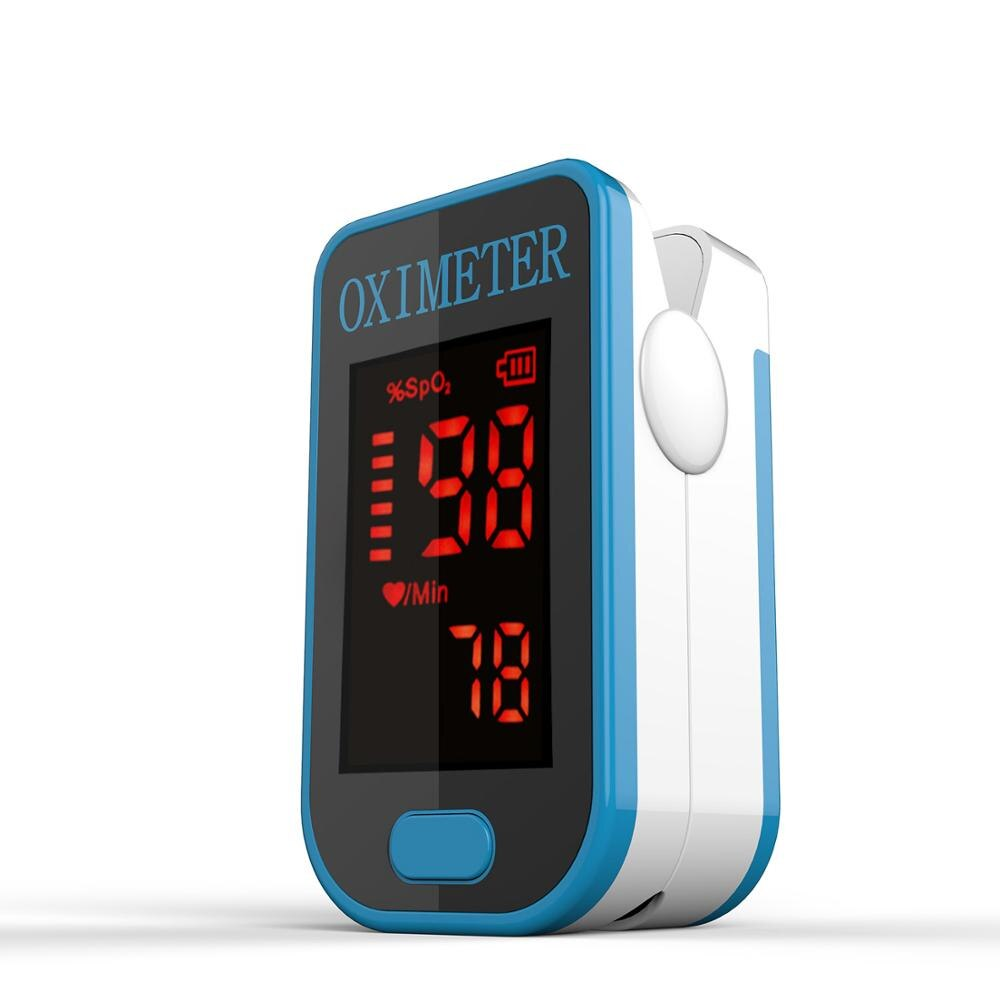 Thermozen™ Easy@Home Fingertip Pulse Oximeter Blood Oxygen Saturation Monitor