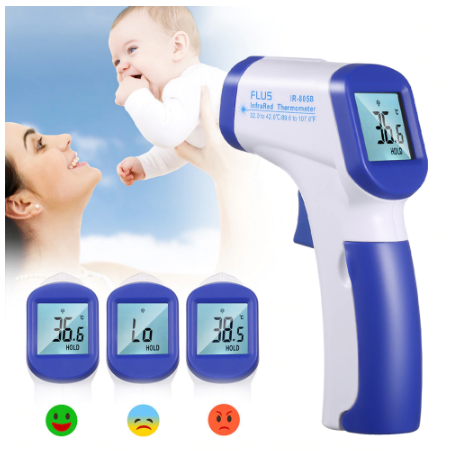 Thermozen™ No Touch Infrared Multi Functional Non Contact Digital Thermometer