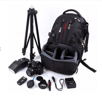 CamBag™ Waterproof Camera Case and Laptop Backpack