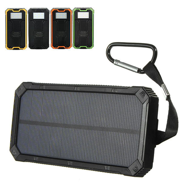 ProChargeX™ Portable Solar Panel Charger Camping Power Bank
