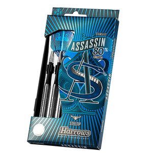 ASSASSIN 80% Tungsten Darts Set