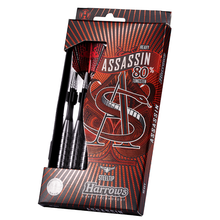 Load image into Gallery viewer, ASSASSIN 80% Tungsten Darts Set - Heavy