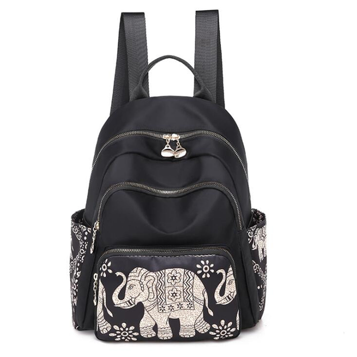 Nylon Women Shoulder Backpack