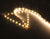 12V LED 3528 Strip Light IP20 - ZigZag - 5 Meter Roll