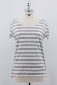 "Shirt ""Stripe"", grau"
