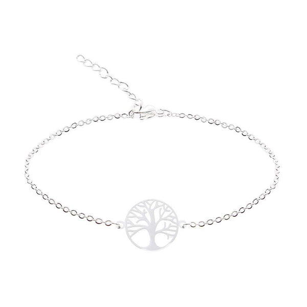 HCA Crystals Armband Love tree silber