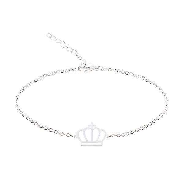 Armband Love crown silber