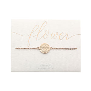 HCA Crystals Armband Love flower rose