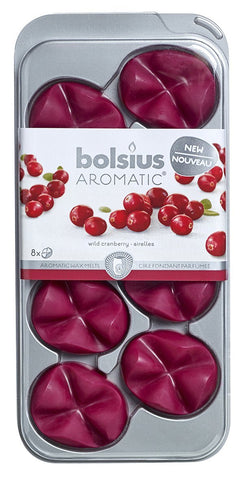 Bolsius Wax Melts, Cranberry