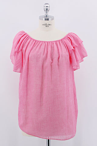 Bluse, pink