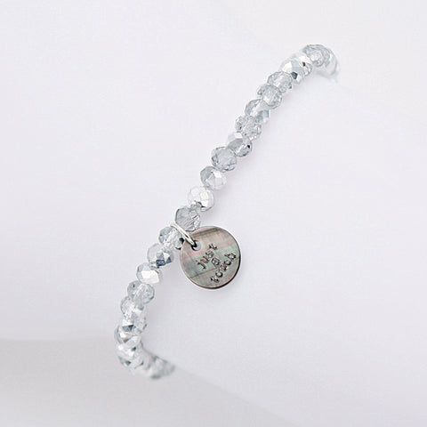 "Armband ""Just a Touch"" silber"