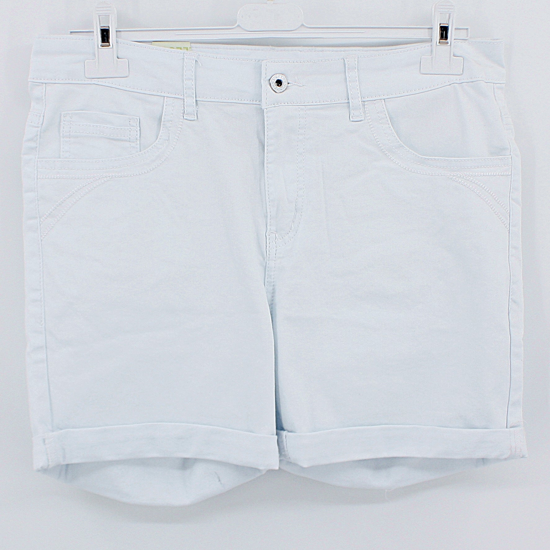 Jeans Shorts - weiss