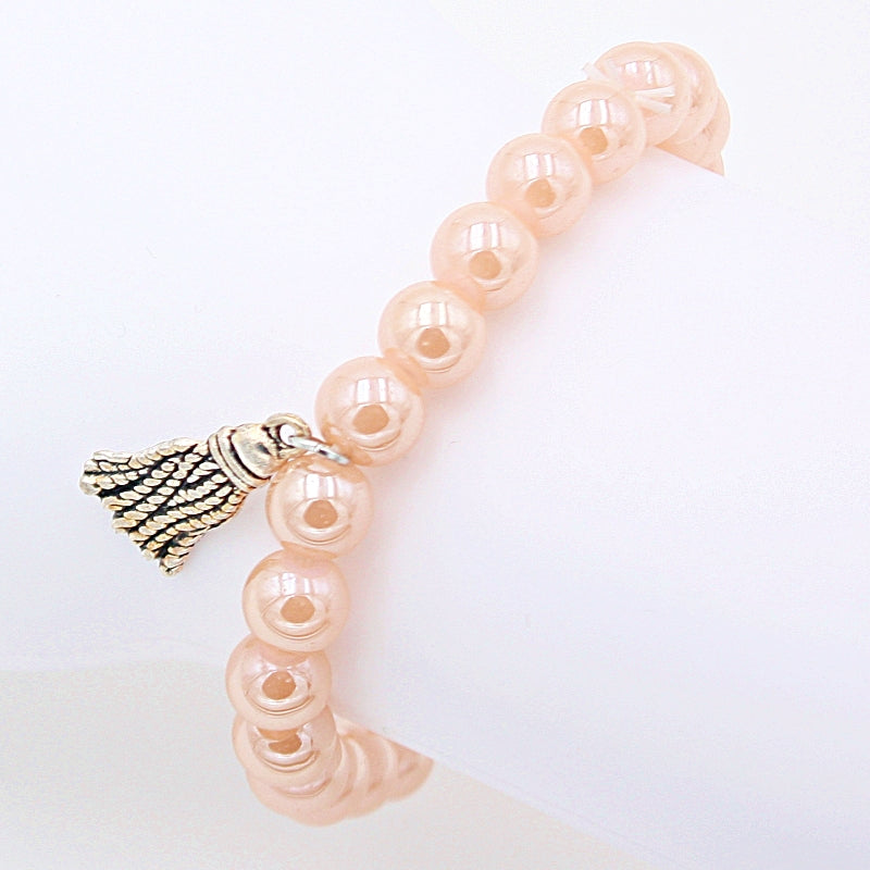 "Perlenarmband ""Perletti"" 8mm rose"