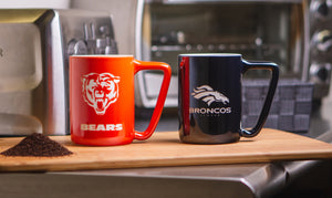 R and R Imports Northern Iowa Panthers Ceramic Mug 2-Pack