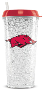 Official NCAA Crystal Freezer Tumbler
