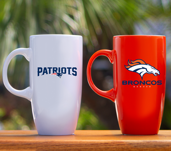 NFL Tall Ceramic Bistro Coffee Mug