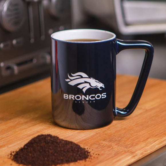 NFL Laser Engraved Ceramic Coffee Mug