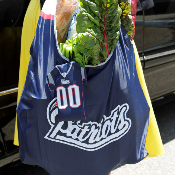 NFL Reusable Bags in a Pouch