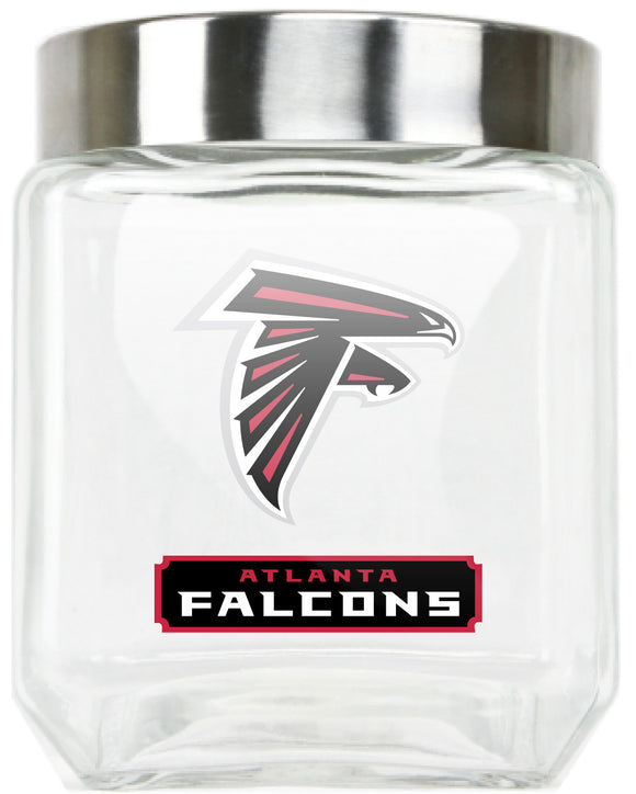 Official NFL Medium Glass Food Container