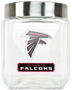 Official NFL Medium Glass Canister