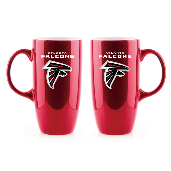 Official NFL Tall Ceramic Bistro Mugs