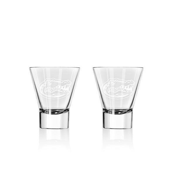 Official NCAA Stemless Martini Glass Set
