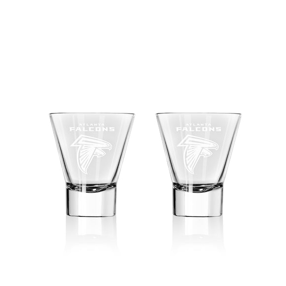 Official NFL Stemless Martini Glass Set