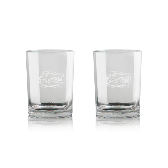 Official NCAA Rocks Glass Set