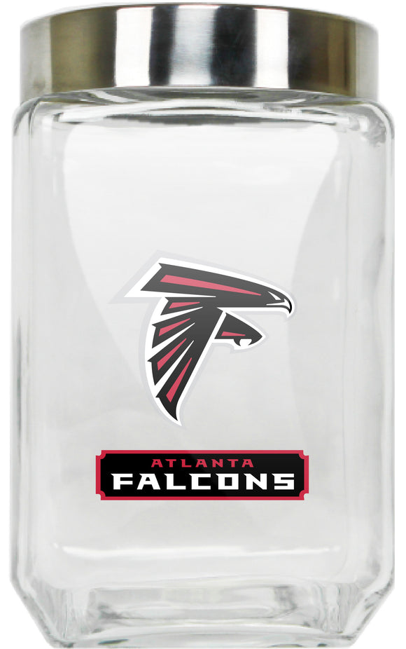 Official NFL Glass Canister