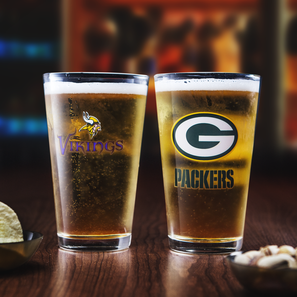 NFL Pint Glass Set
