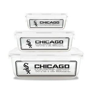 Official MLB Glass Food Containersr