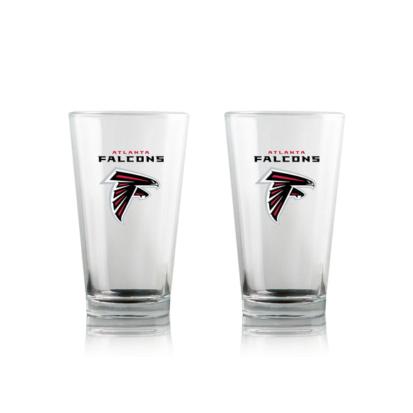 Official NFL Pint Glass Set