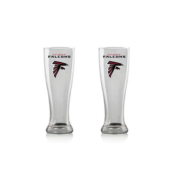 Official NFL Pilsner Glass Set