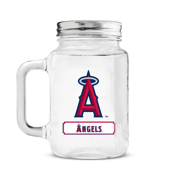 Official MLB Glass Mason Jar