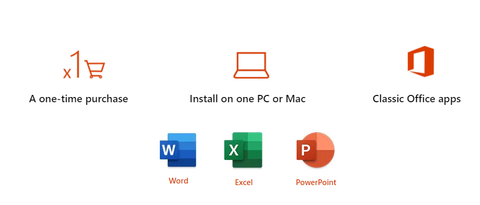 Classic Word, Excel and Powerpoint