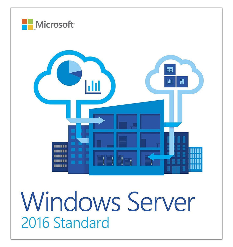 Windows Server 2016 STANDARD License - Product Key - Unlimited Cores