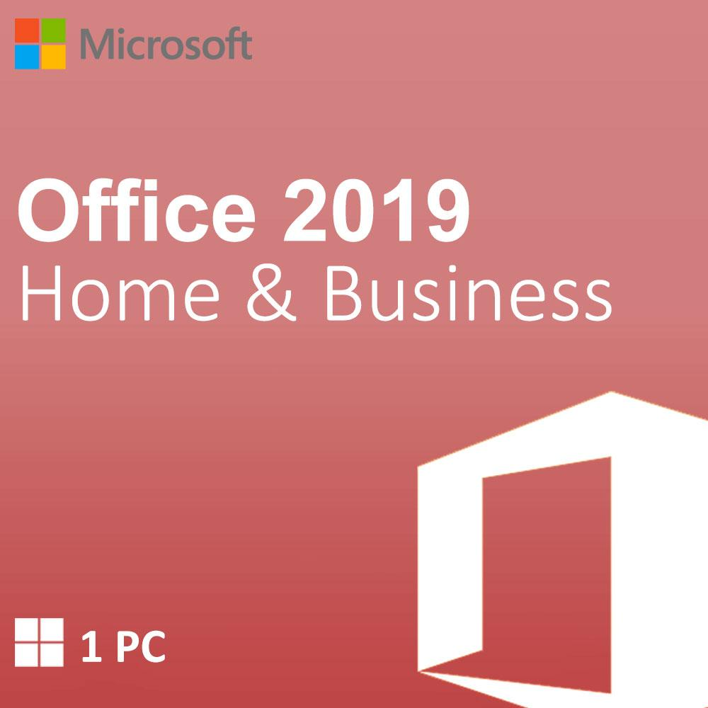 Microsoft Office Home & Business 2019  1 - PC - Digital License product key