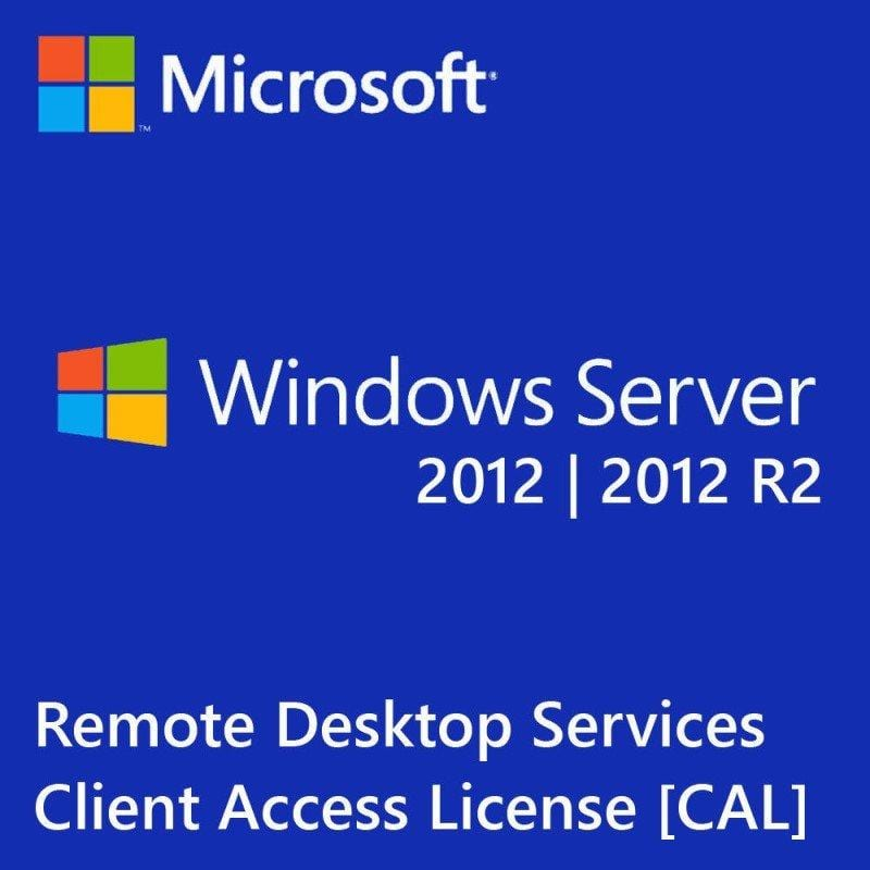 Windows Server 2012 R2 50 RDS USER / usr CALs 5 10 25