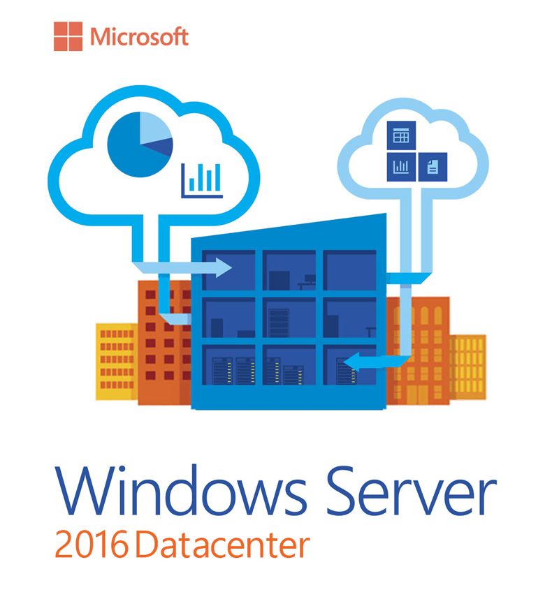 Windows Server 2016 DataCenter License - Global Product Key - Unlimited Cores