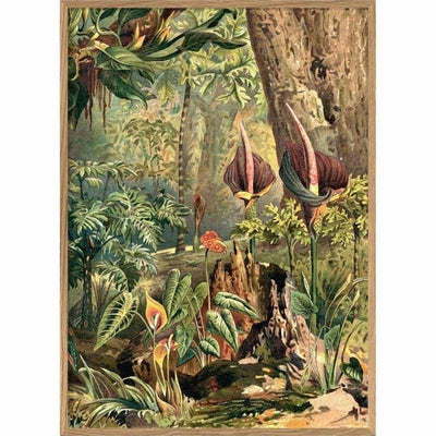 Affiche Jungle Aracae Droite  - French Blossom