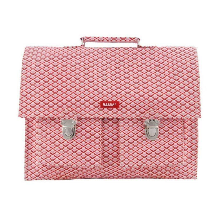 Cartable enfant Bakker - Cercles roses